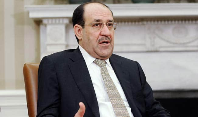 Nouri al-Maliki urges Iraqi political blocs to back Haider al-Abadi