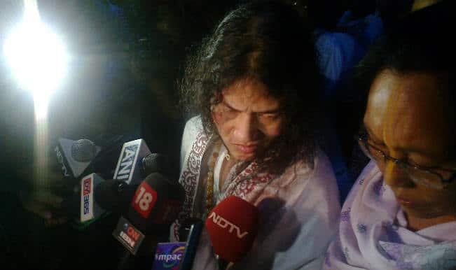 Irom Sharmila forcibly arrested by Manipur police; refuses food for 40 hours