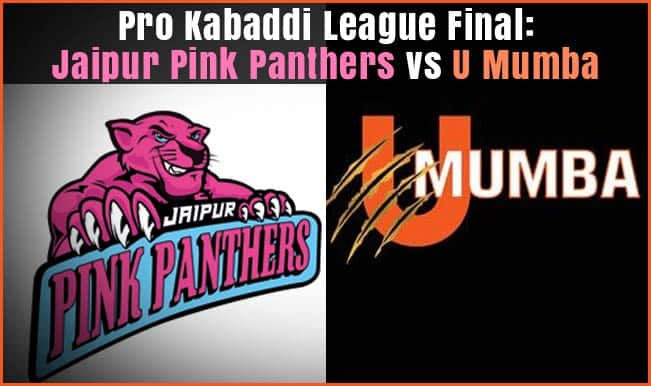 Pro Kabaddi League final match result: Abhishek Bachchan's Jaipur Pink Panthers beats Mumbai's U Mumba