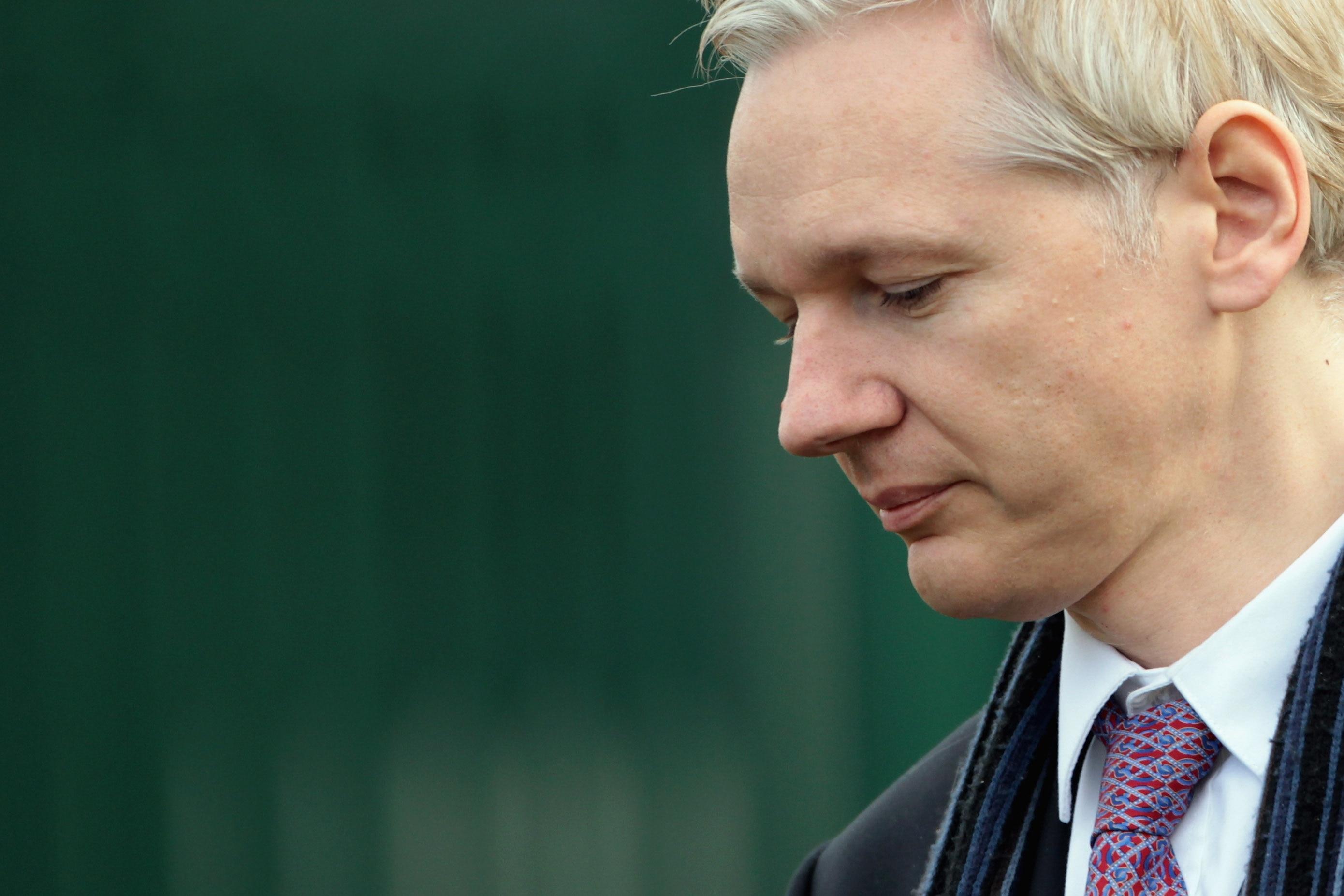 WikiLeaks founder Julian Assange develops heart defect