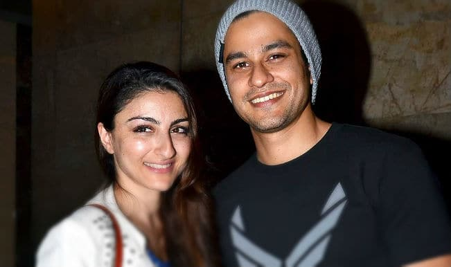 Soha Ali Khan: I am happily committed to Kunal Khemu!
