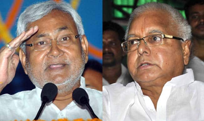 Lalu Prasad and Nitish Kumar are together again, after 20 years
