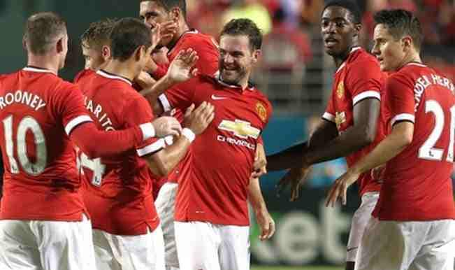 manchester united at ICC 2014 Finals