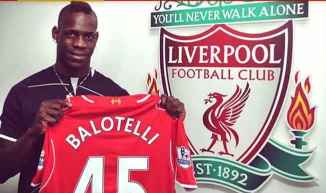 Liverpool new boy Mario Balotelli glad to be back in the Premier League