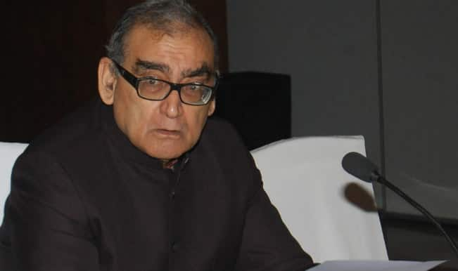 Justice Markandey Katju sparks controversy, Congress says why rake up issue now