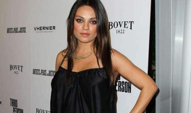 Mila Kunis tagged as most stylish pregnant woman