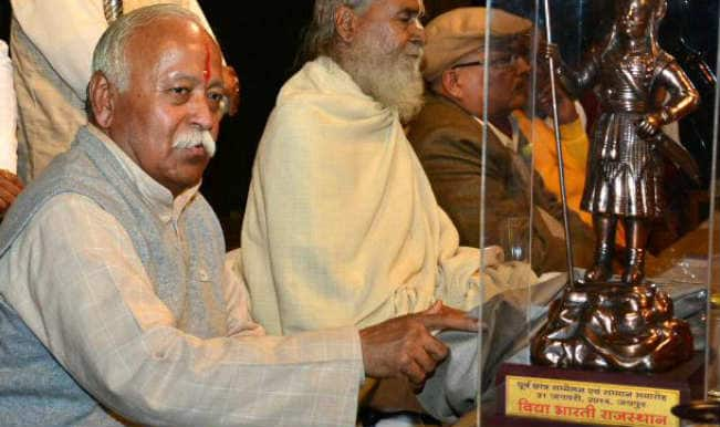 Credit for NDA formation goes to people: Mohan Bhagwat