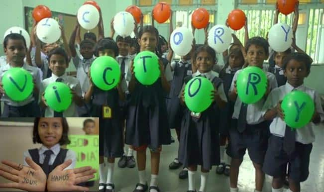 Watch video to see children of Akanksha Foundation explaining the National Anthem