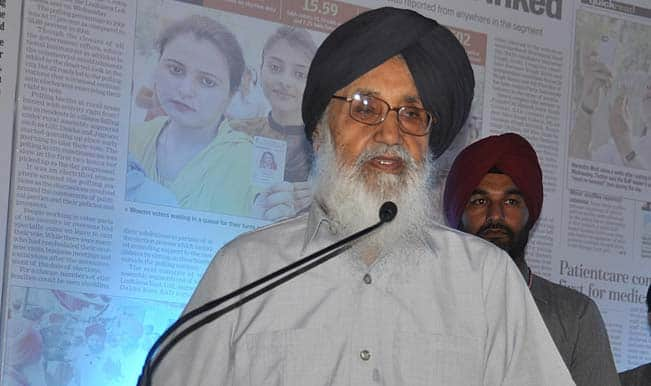 Parkash Singh Badal seeks intervention of Arun Jaitley, Uma Bharti for project clearance