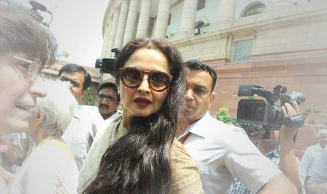 Rekha fails attendance report in Rajya Sabha: Only 5% in the last two years