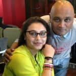 Rani Mukerji's brother ties a rakhi to his 'Mardaani' sister