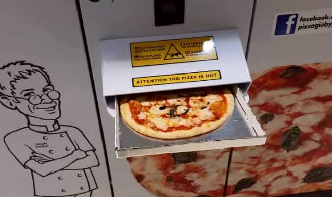 Pizza Gio: Australia's first ever pizza vending machine