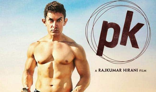 New poster of Aamir Khan's  'PK' won't even have transistor!