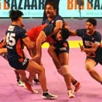 Pro Kabaddi League: Dabang Delhi defeat table toppers U Mumba