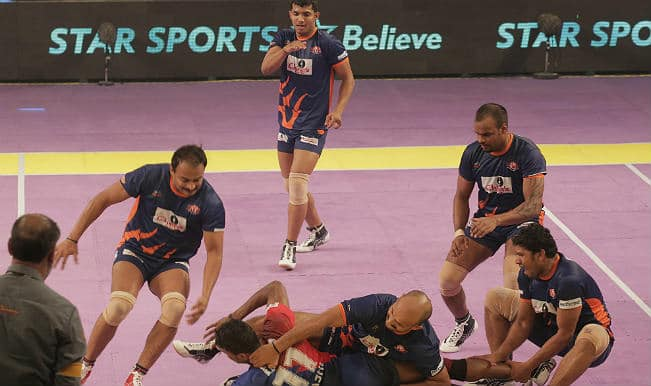 Pro Kabaddi League: Bengal Warriors beat Dabang Delhi in closing minutes