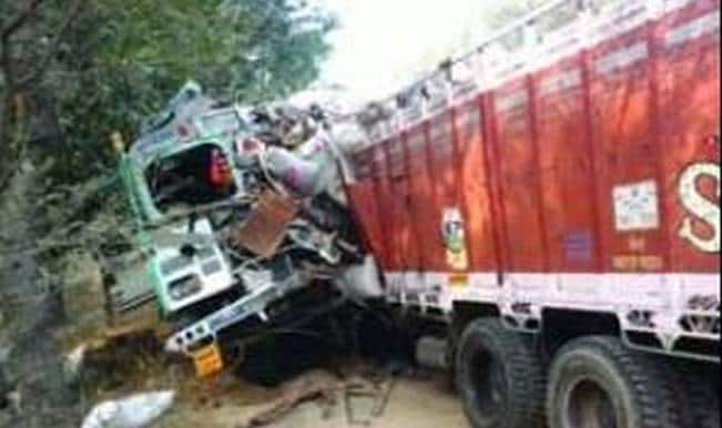 Bus collides with truck due to smog, four dead