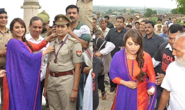 Rani Mukerji visits her homeland Jhansi after 20 years!