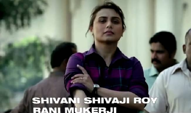 Rani Mukerji's exclusive interview for Mardaani: The making of Shivani Shivaji Roy