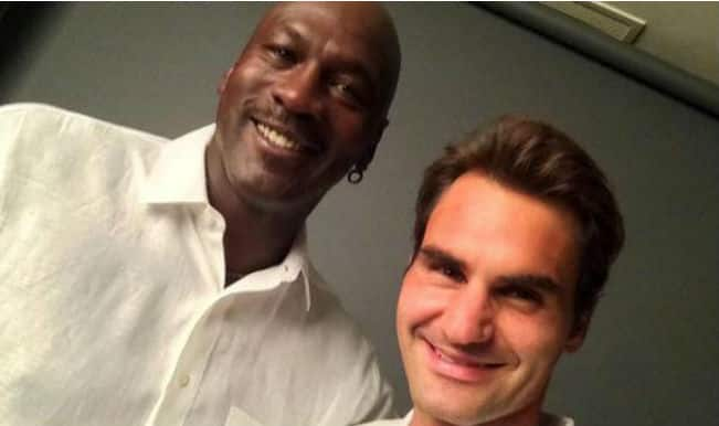 Roger Federer finds new fan in NBA icon Michael Jordan, poses for EPIC selfie!
