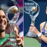 Jo-Wilfried Tsonga, Agnieszka Radwanska: The Rogers Cup 2014 Champions