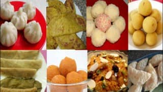 Ganesh Chaturthi Special Recipes: Modak, Naivedya, Prasad, Puran Poli and other Traditional Recipes