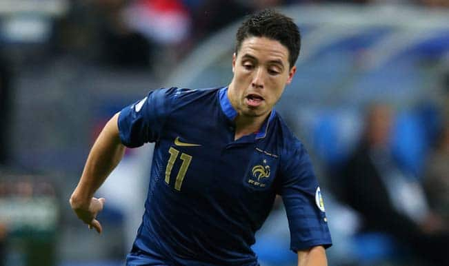 Samir Nasri retires: The unhappy French Manchester City midfielder quits international football