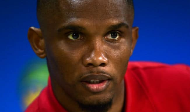Samuel Eto'o close to joining Everton, according to reports