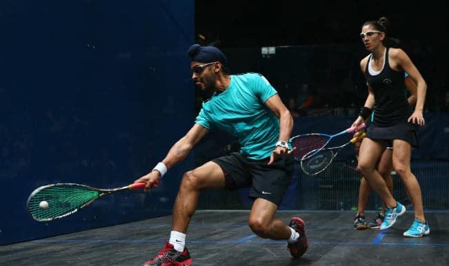 Indian pair of Harinder Pal Sandhu and Joshana Chinappa lose in mixed-doubles squash quarter finals
