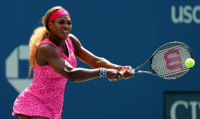 US Open 2014: Serena Williams thrashes Vania King to enter third round