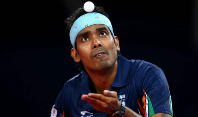 Paddlers Sharath Kamal-Anthony Arputharaj in focus for the CWG 2014 men's doubles semi-final