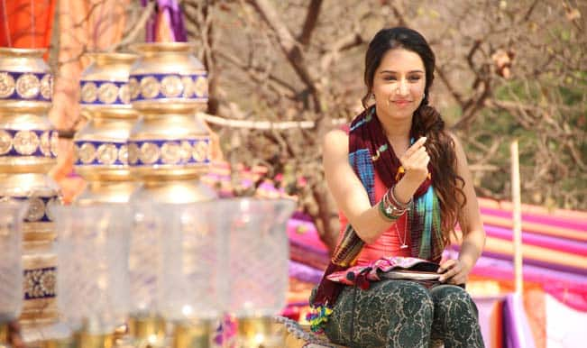 Is Shraddha Kapoor obsessed with the alphabet 'A'?