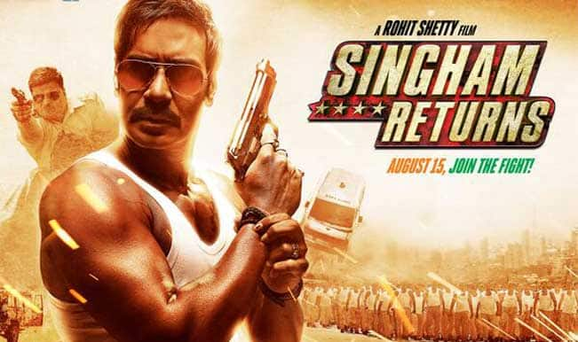 'Singham Returns' has roaring opening, collects Rs 32.09 crore on opening day