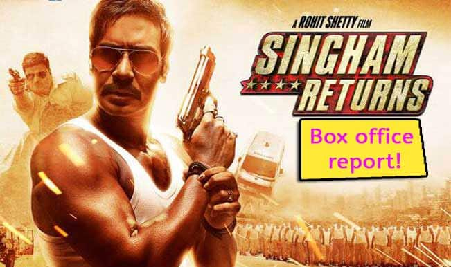 Singham Returns box office report: Ajay Devgn's action dhamaka crosses Rs 80 crore!