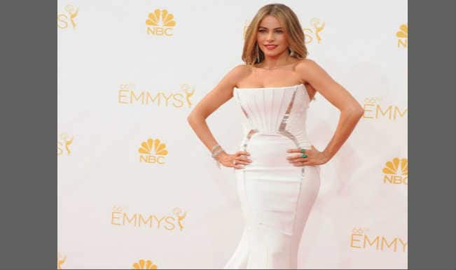 Sofia Vergara criticised as sexist at Emmy Awards