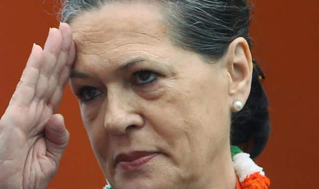 Sonia Gandhi greets nation on Independence Day