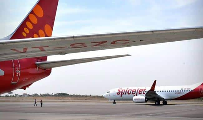 SpiceJet's first quarter net loss at Rs124 crore