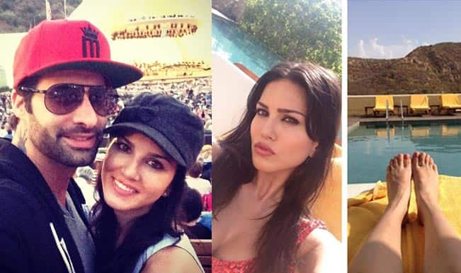 Sunny Leone: The sexy 'n' cute queen of Selfies on Twitter and Instagram!