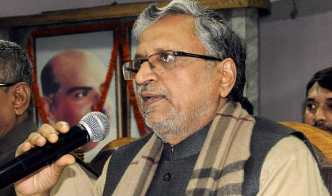 Sushil Kumar Modi warns people against Nitish Kumar's 'double role'