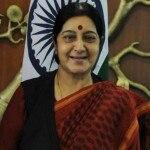 BJP slams minister for making fun of Sushma Swaraj