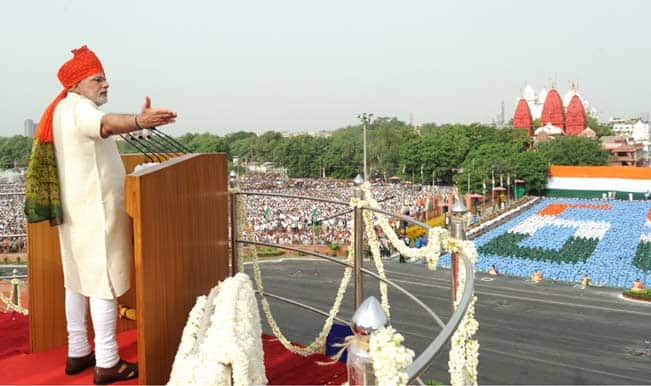 Watch video: Narendra Modi's speech at Red Fort on Independence Day