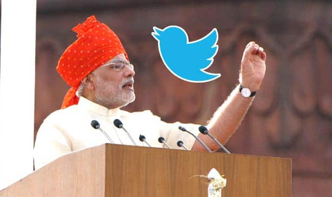 Twitterati impressed with Narendra Modi's speech on Independence Day; takes a dig at UPA government