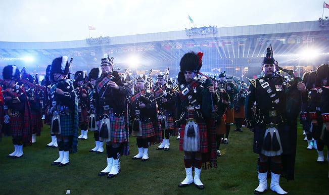 Scottish musicians rock Commonwealth Games 2014 closing ceremony