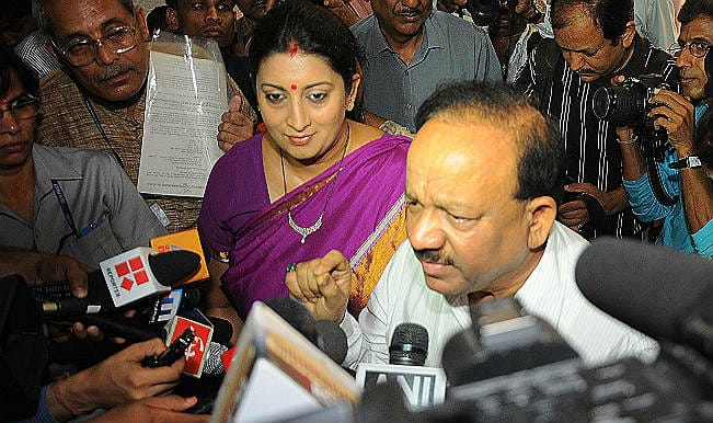 Pentavalent vaccine introduced in eight states: Harsh Vardhan