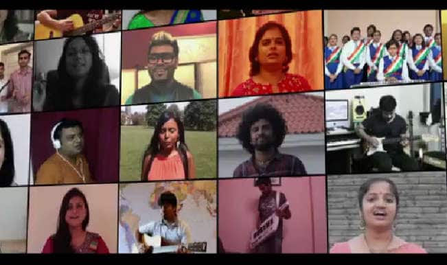 Independence Day special: 50 strangers come together to sing 'Saare Jahaan Se Achha'