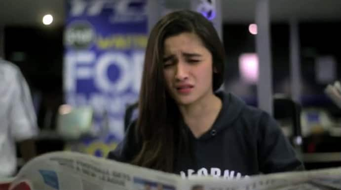 Alia Bhatt reacts to her All India Bakchod 'Genius Of The Year' video
