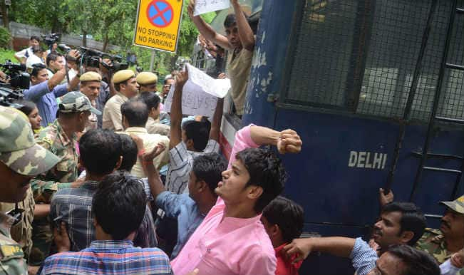 UPSC protest: Students block railway tracks in Bihar