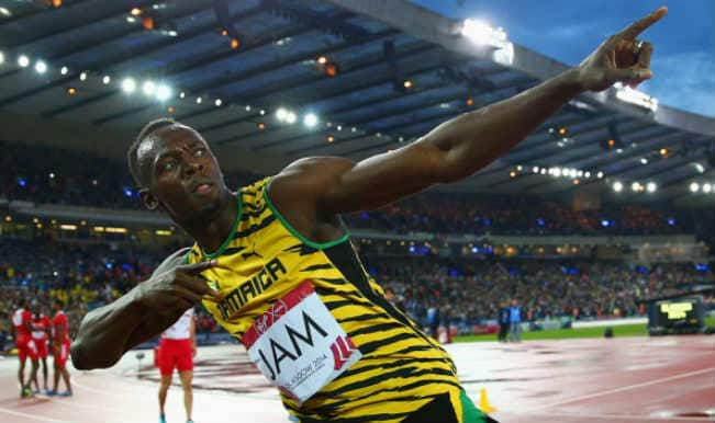 Unstoppable Usain Bolt anchors Jamaica to win 4x100m relay title