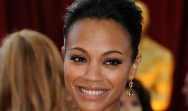 Zoe Saldana finally admits pregnancy