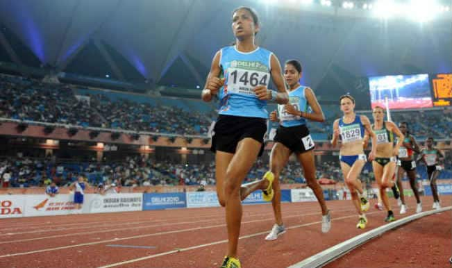 Lalita Babar and Sudha Singh win silver, bronze in the women's 3000 metre steeplechase in Asian Games 2014