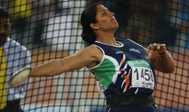 Krishna Poonia misses bronze medal by whisker in Women's Discus Throw in Asian Games 2014